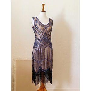 NWOT 1920s Flapper Dress Costume